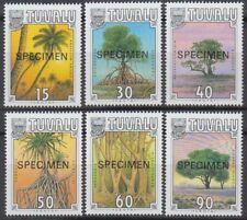 Specimen, Tuvalu Sc533-8 Tropical Tree, Cocus nucifera, Pisonia grandis...