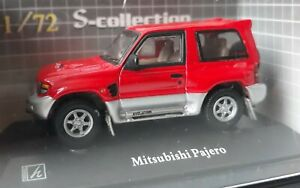 Japanese Mini-car 1/72 S-collection Hongwell Mitsubishi Pajero Red Diecast