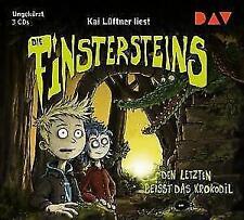 Die Finstersteins - Den Letzten beißt das Krokodil, Hörbuch (2018)