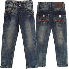 Markenlose Mädchen-Jeans aus Baumwollmischung