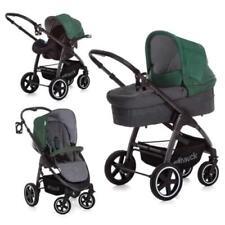 Poussette de promenade gris chancelière, tablier pour bébé