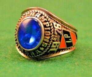 1976 LaPorte IN High School State Championship Baseball Ring IHSAA Vintage Sport