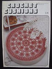 Cojines de ganchillo – Vintage ganchillo patrones. abrigos FOLLETO No. 1141