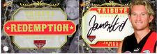 2008 Select AFL Classic Signature Redemption Card S5 James Hird Tribute Sign.