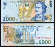 Romania 1000 Lei 1998 P106 Mint Unc