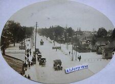 Foto : KOWEL - RUSSLAND mit Ortskern und Hauptstraße im Ort. (V)