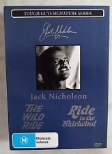 Jack Nicholson 2 Movies, Boxset 2 Discs DVD The Wild Ride Ride In The Whirlwind