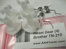 4 x Reset Gear for Brother TN-210, TN210 Toner Cartridge Reset Refill