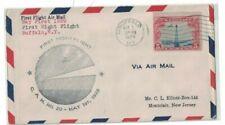 USA - May 1st 1929 - First Night Flight, Buffalo, New York