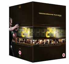 24 Complete Series Seasons 1-9 Live Another Day + Redemption DVD Region 2 New