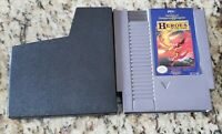 AD&D HEROES OF THE LANCE Nintendo NES Game Cartridge: Cleaned/ Tested