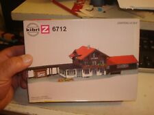 KIBRI  Z SCALE TRAIN STATION # B-6712