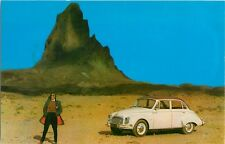 c1960 DKW 3=6 Automobile Dealer Promo Advertising Postcard (a)