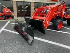 New 60 Snow Plow Quick Attach Manual Angle Blade Kubota Kioti Manhindra