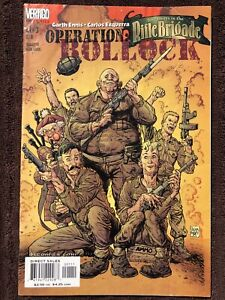Adventures in the Rifle Brigade: Operation Bollocks #1-3 (DC, 2001) Complete!