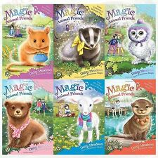 Daisy Meadows Magic Animal Friends Series 6 Books Set Chloe Slipperslides Secret