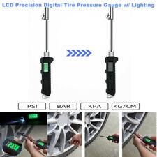 LCD Digital Auto Tire Pressure Gauge witn Lighting For Truck Car Motorcycle Bike
