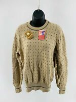 Eddie Bauer Women's Top Sweater Shirt Pullover Long Sleeve Cotton Size Small