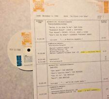 RADIO SHOW: 12/3/86 HOME! CSN&Y, BEATLES, DC5, JOHN DENVER,CLIFF RICHARD, S&G
