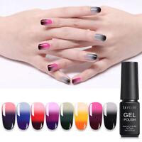 LILYCUTE 7ml Thermal Color Changing Gel Nail Polish Soak Off Nail UV Gel Varnish