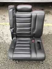 2003 2004 2005 2006 2007 HUMMER H2 3RD THIRD ROW BLACK LEATHER SEAT