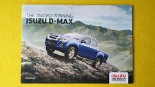 Isuzu D-Max Eiger Yukon Utah Blade Utility brochure catalogue 2018 MINT D Max P