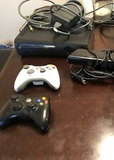 Microsoft Xbox 360 250GB Black Console With Kinect, Four Games & Two Controllers
