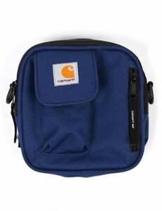 Carhartt Wip Essentials Bag Side Shoulder Metro Blue Black Travel Supreme