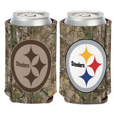 Pittsburgh Steelers / Camo NFL Can Cooler 12 oz.