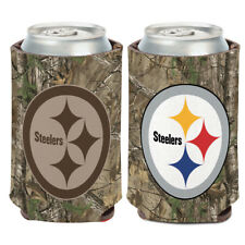 Pittsburgh Steelers Camo Can Cooler 12 oz.