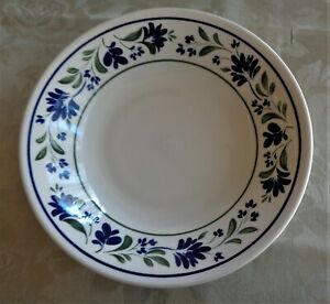 Churchill England Replacement Coupe Soup Bowl *Blue & Green Salzburg Pattern