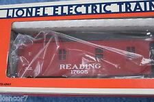 """1989 Lionel 6-17605 Reading Standard """"O"""" Woodside Caboose L2704"""