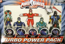 Power Rangers Turbo Power Pack Aliens Hammeron Amphibitor,Red,Blue & Green MISB