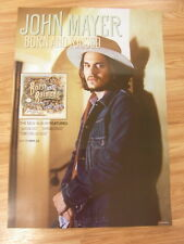 JOHN MAYER - BORN AND RAISED (2SIDED) [ORIGINAL POSTER] *NEW*