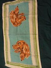 Irish Setter Tea Towel Vintage