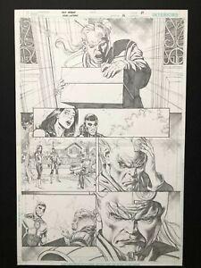 Jack Herbert - Green Lanterns #6 Pg 17 - ORIGINAL ART ORIGINALZEICHNUNG DC