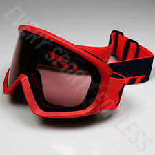 Scott Fact Illuminator Lens Ski/Snowboard Goggles - Fluo Red (NEW) Lists @ $50