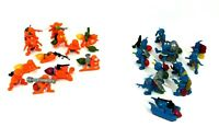 1987 Hasbro Army Ants Lot of Blue and Orange Figures - Most with Accessories