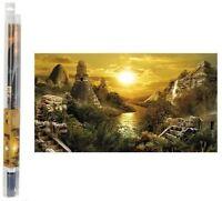 Hydor h2show Hintergrund dekorative,Zivilisation austritt 80X40 cm.para Aquarium