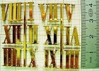 Index chiffres romain dial cadran clock horloge pendule uhr paris cartel MOYEN 2