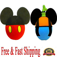 Disney Antenna Toppers Mickey Mouse and Goofy Body Antenna Toppers Set Original