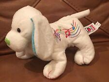 "8"" Harmony Puppy Ganz Webkinz Beanbag plush Stuffed Song Notes puppy dog HM630"