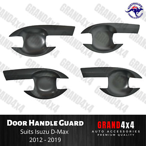 Door Handle Guard Bowl Insert Trim Suits Isuzu D-Max DMax 2012 - 2019