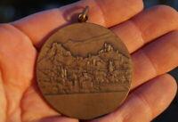 seltene Medaille Huguenin Fete Romande de Gymnastique Sion 1965 Sammlerstück