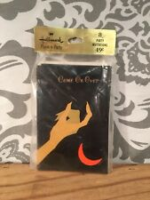 Vintage Adult Or Child Halloween Invitation Party Sealed in Pack of 8 #383
