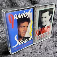Lot Of 2 David Sanborn Cassette Tapes A Change Of The Heart / Close Up 1987 1988