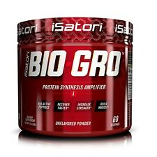 iSatori BIO-GRO Protein Synthesis Amplifier Bio-Active Peptides 60 Servings