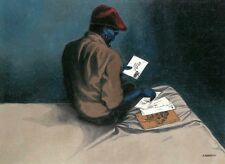"""Roberts African American Black Art-/""""Days Gone By/"""" by Antonio L"""