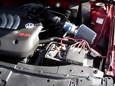 99-05 BLUE VW Jetta Golf Beetle / Audi TT Air Intake Racing System + Filter