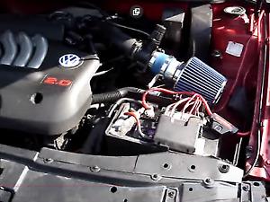 99-05 BLUE VW Jetta Golf Bettle / Audi TT Air Intake Racing System + Filter